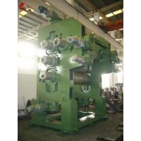 4 Roll PVC Calender Machine 1500mm 1700mm Width For Soft PVC Leatheroid