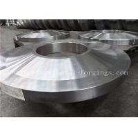 China ST52 ST60-2 Carbon Steel Forged Rings Flanges Heat Treatment wholesale