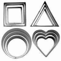 Cheap 12pcs S/S Cookie Cutter Set, Customized Shapes and Sizes are Welcome wholesale