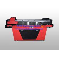 Cheap Industrial UV Glass / Wood Printing Machine With Double Print Head wholesale