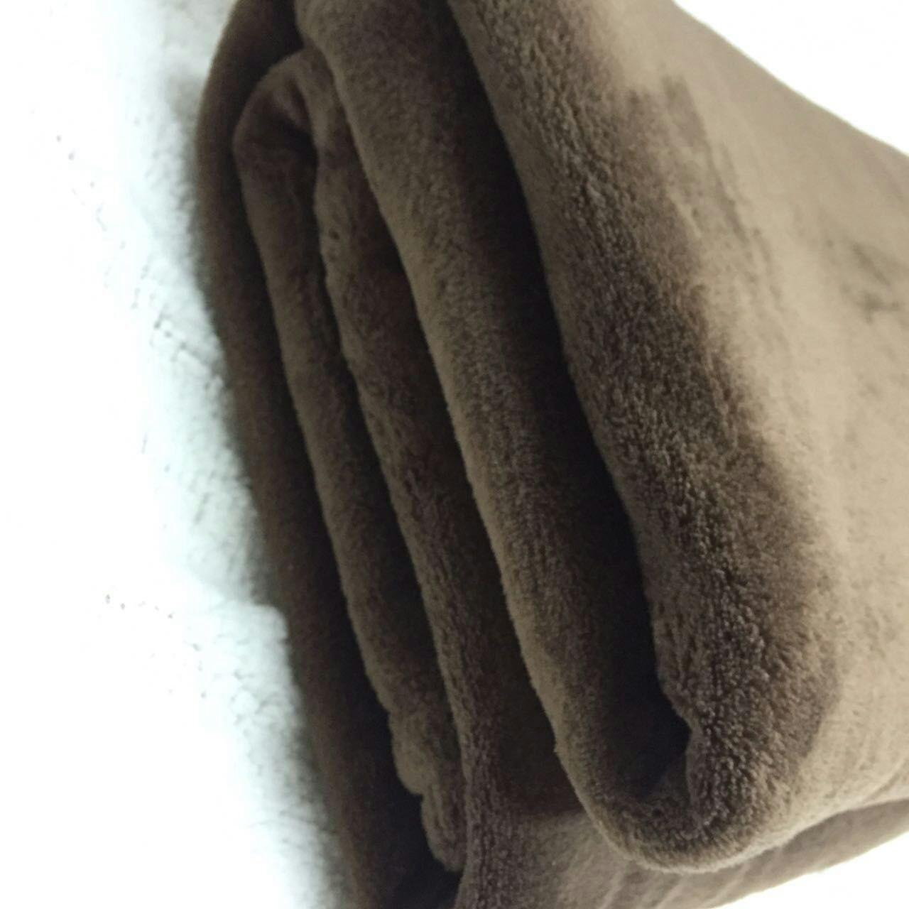 China Super Soft Solid Coral Polyester Fleece Blanket Throw Blanket Anti Pilling High Density wholesale