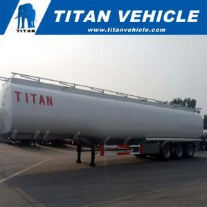 60,000 liters Fuel Tank Semi Trailer for Diesel/Petrol/Crude Oil Transporting