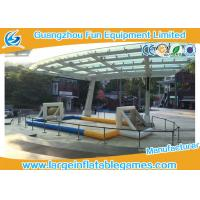 Buy cheap Air tighted inflatable football pitch ,  Volleyball Court With Digital Printing from wholesalers