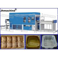 Cheap CE Standard PP Trays Automatic Vacuum Thermoforming Machine within Vacuum pump food grade wholesale