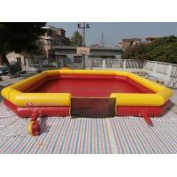 Cheap Inflatable Bumper Ball court with Commerical Grade PVC Tarpaulin wholesale