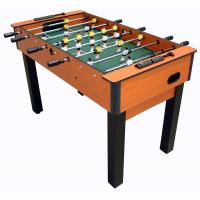 China 4FT Deluxe Football Table with telescopic play rods wood color PVC finish wholesale