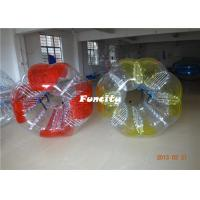 Custom Made 1.2m PVC Inflatable Bumper Ball Durable Safety For Kids Playing