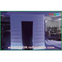 Cheap L2.4 W2.4 H2.5M Inflatable Photo Booth To Buy With Led Light For Event wholesale