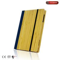 Cheap Book Style Eco-friendly Genuine Natural Bamboo Cover Case For Ipad Air wholesale