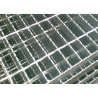 Carbon Steel Serrated Steel Grating Hot Dipped Galvanized Customized