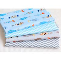 China Breathable Garment Printed Cotton Canvas With Comfortable Feeling wholesale
