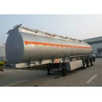 Wholesale Large Capacity Diesel Semi Trailer Truck / Fuel Tanker Truck 14100 * 2500 * 3780 mm from china suppliers