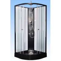 Convenient Comfort Black Corner Shower Cabinets For Large Scale Shopping Malls