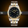 Cheap Men Analog Quartz Business Wrist Watch With Diamond Decoration Calander wholesale