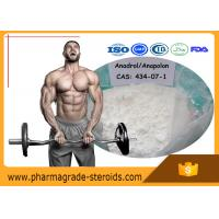 Wholesale Oral Anabolic Steroids Oxymetholone Anadrol CAS 434-07-1 for Fat Loss Bodybuilding from china suppliers