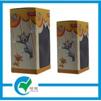 Cheap OEM  Tom and Jerry Toy Cardboard Packaging Boxes with PET Window wholesale