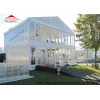 China Outdoor Classic Double Decker Heavy Duty Party Tent With Two Floor wholesale