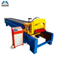 Buy cheap Color Steel Plate Aluminium Glazing Roofing Tile Forming Machine 18 Rows from wholesalers