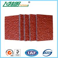 EPDM Synthetic Rubber Play SurfaceRecycled Flooring Materials / Colorful EPDM Plastic Running Track