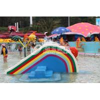 Quality Small Rainbow Bridge Slide, Children Water Park Slide of Small Waterpark for Kids for sale