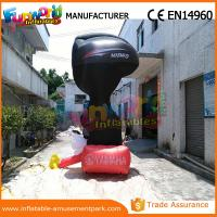 China 4m Height Advertising Inflatables Yamaha Shape Red and Black wholesale