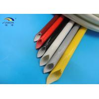 Wire Insulating Rubber Silicone Coated Fiberglass Sleeving with UL RoHS Approval
