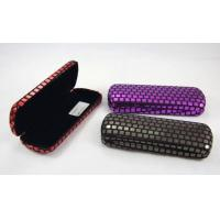Printing Classic Luxury Small Spectacle Cases Polka Dot Designed 160X60X31 mm