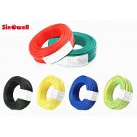 Shield Electrical Jacket Teflon Insulated Cable High Temperature Resistant Wire UL Series