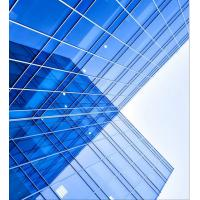 Cheap 2.0mm Aluminium Frameless Glass Curtain Wall Glazing With Low - E Glass wholesale