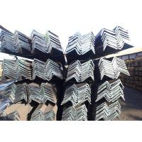 China Mild Angle Iron Bar , Hot Rolled Unequal Steel Angle Fire Proof wholesale