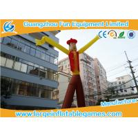 Buy cheap Cowboy Theme Inflatable Advertising Products / Inflatable Sky Dancer from wholesalers