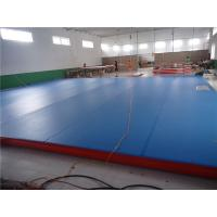 China Professional Air Track Mat Parkour Air Mat For Practice 15*2*0.2M wholesale
