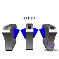 CE Approved Flap Barrier Gate With IR Sentor Function To Prevent Pinch / Trailing / Retrograde