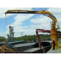 Cheap Hydraulic Telescopic Knuckle Boom Marine Ship Deck Crane wholesale