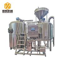 Stainless Steel CompleteMicrobrewerySystem With Large Cross - Section Impeller