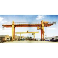 China 28.5m Span 200 / 32t Double Girder Gantry Electric Overhead Crane with Hook wholesale