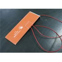 China Customized Shapes Silicone Heating Pad , Silicone Pad Heater With Thermostat wholesale