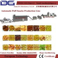 Cheap automatic puffed ring snack food extruder making machine wholesale