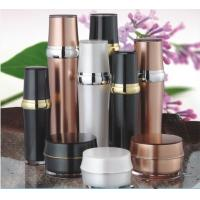 Cheap Luxury cosmetic packaging acrylic lotion bottle with pump wholesale