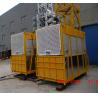 Cheap 2.5 x 1.3 x 2.5m VFD Construction Hoist Elevator and Building Lifter SC200 / 200 wholesale