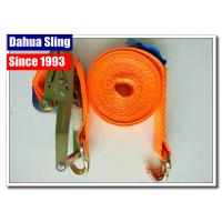 "10000 Lbs 2""  Mini Ratchet Tie Down Straps With Zinc Plated Welded Wire Hook"