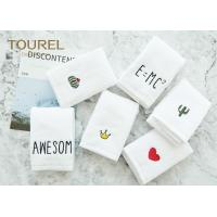 China Quick Dry Soft Antibacterial Cotton Face Towel For Baby / Travelling wholesale