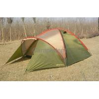 Cheap OEM outdoor large luxury waterproof camping tents in 190T Polyester wholesale