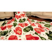 China Super Cozy Luxury Coral Fleece Blanket , Knitted Thick Warm Fleece Blanket wholesale