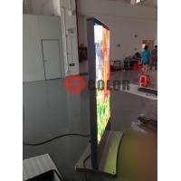 Glass Cover Full Color P6 Roadside Indoor LED Screens For Advertising