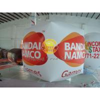 Cube balloon with four sides digital printing, Inflatable Ground Balloon for Trade show