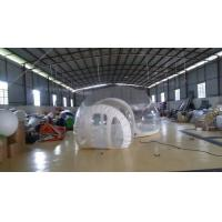China Inflatable Transparent Bubble Tent Belt Steel for Outdoor Camping wholesale
