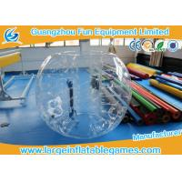 China Commercial Clear Color Inflatable Bubble Ball With CE Certificate , Inflatable Bumper Ball wholesale
