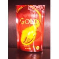 Cheap Printed Coffee Bag Packaging / Stand Up Plastic Bags With Ziplock wholesale