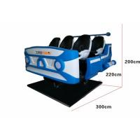China Dynamic Electric System 9d VR Cinema With 4 Special Effects Multiple Seat Option wholesale